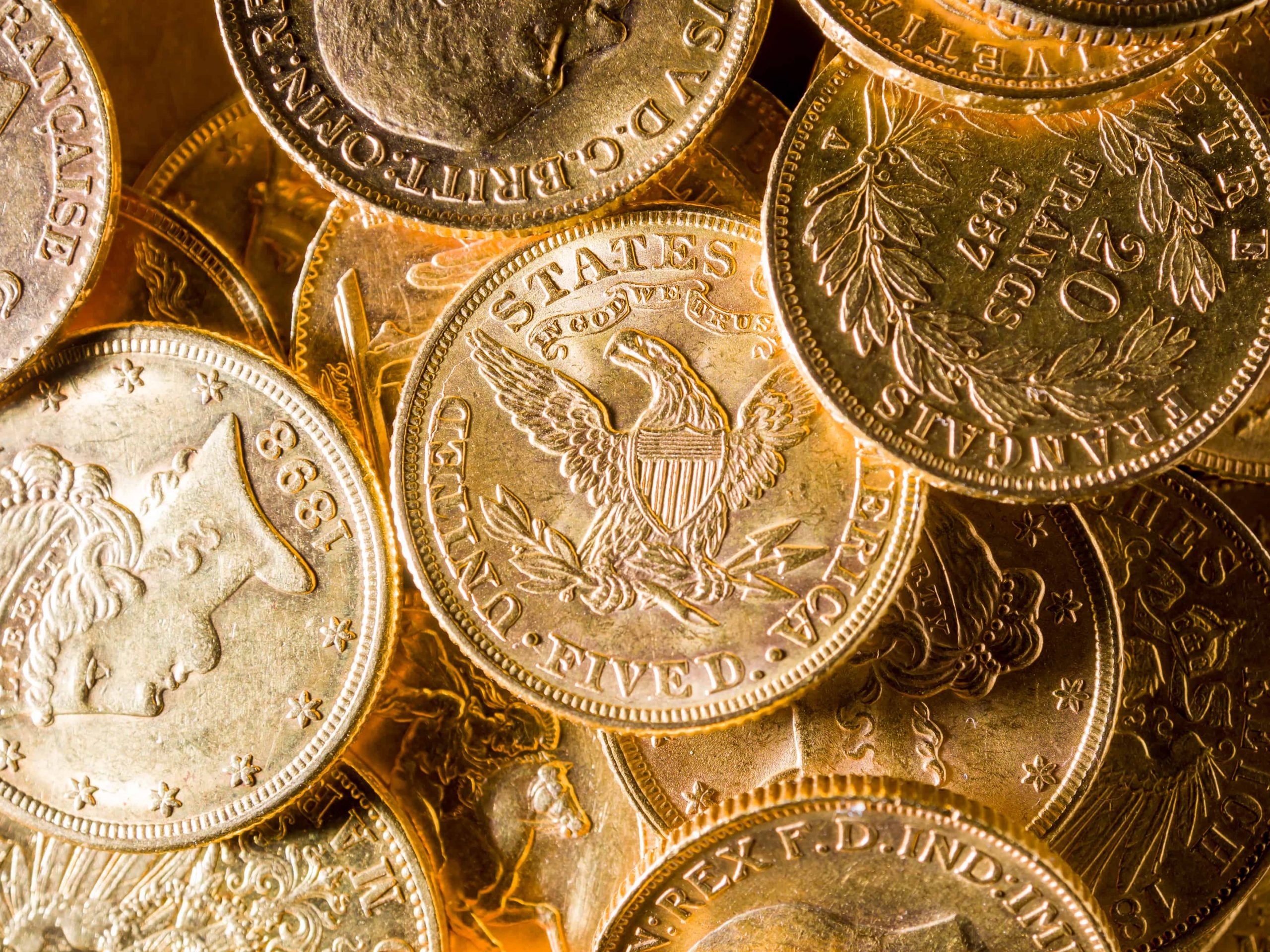 buying gold coins for investment in the USA